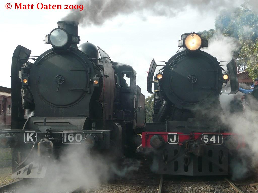 K 160 and J 541 at Maldon by MattOatenVR