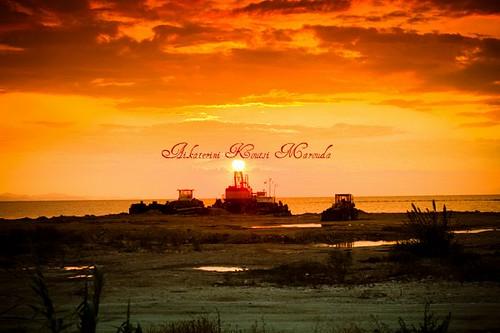 winter sunset sea cloud beach sunrise vintage industrial bokeh shore canoneos40d kotsifi aikaterinikoutsimarouda