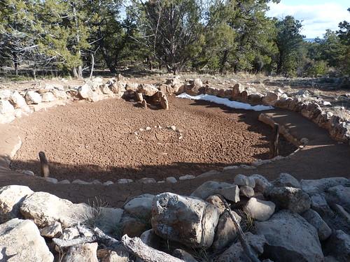 Part of the Tusayan Ruins, Grand Canyon National Park, Arizona