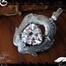 Pendant Silver White CZ Trilliant 02