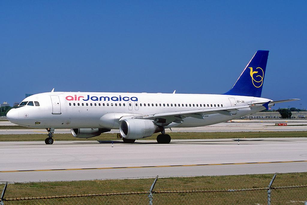 6Y-JAI | Airbus A320-214 | Air Jamaica