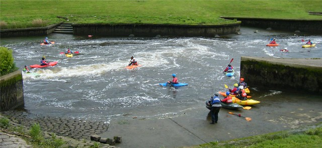 Stockton on Tees, River Tees watersports centre