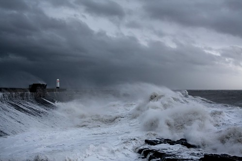 Stormy seas at Porthcawl | by Dai Lygad