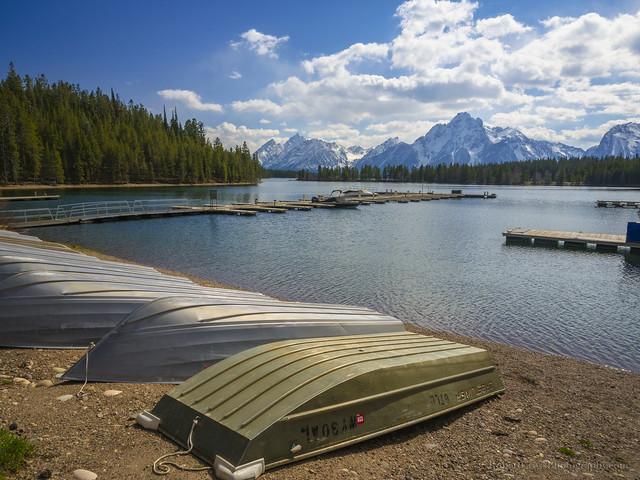 Pre-season at Jackson Lake