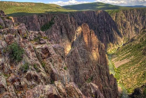 park black nature rock nikon colorado canyon formation national montrose hdr gunnison blackcanyonofthegunnisonnationalpark geologic photomatix d3000