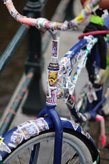 Panini sticker bike