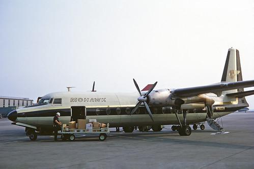 N7822M Fairchild FH.227B Mohawk Airlines JFK 09JUL70
