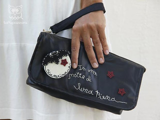 Pochette Vampira in Ecopelle | by La Pupazzara