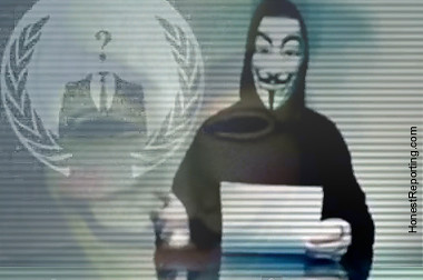 Anonymous Attack | by HonestReporting.com