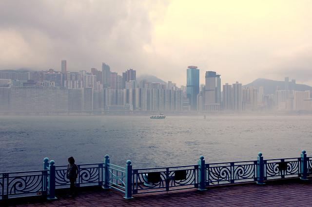 Hong Kong Awakening in the Morning