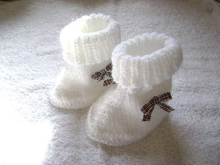 white tartan bows | by awatt2000