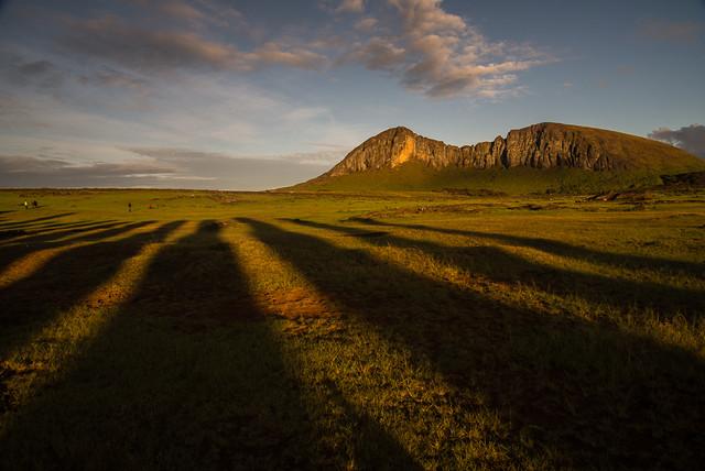 Las sombras del Tongariki