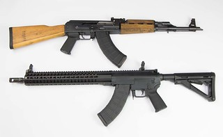 CMMG Mk47 and AK-47 | by Tac6 Media