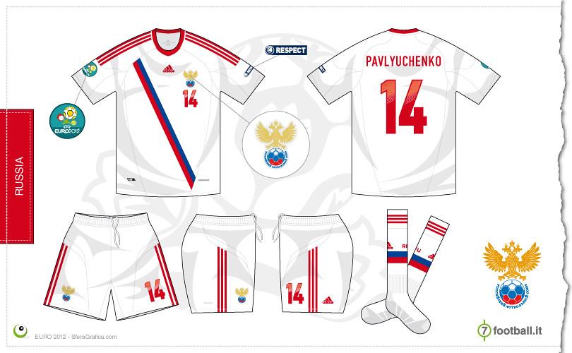 half off 3cd7b 071fe Russia Euro 2012 away kit   Sergio Scala   Flickr