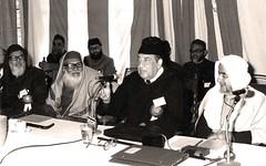 مع سماحة الشيخ لأبي الحسن الندوي - الهند