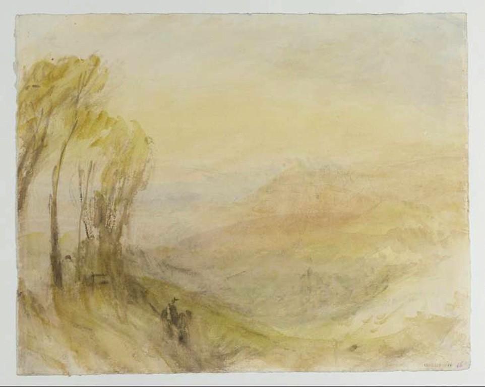 JMW Turner  British  Italian landscape  pen watercolor pap…   Flickr