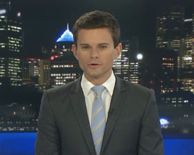 Nick Dole - ABC News 24 (03 February 2012 11pm) | Sexy News