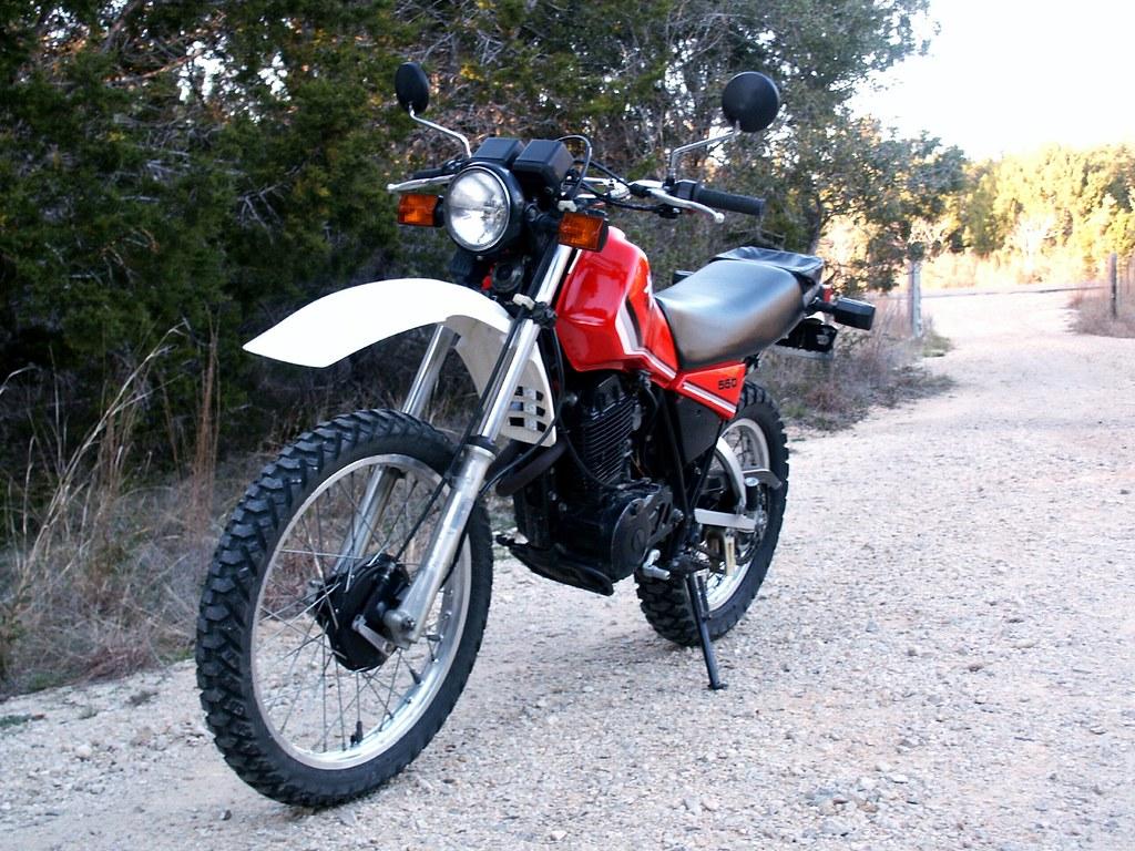 1982 Yamaha XT550 | Yamaha XT550J DualSport Motorcycle | Tom Sales