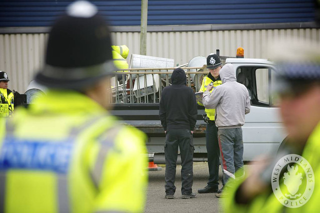 Day 45 - West Midlands Police tackling metal theft