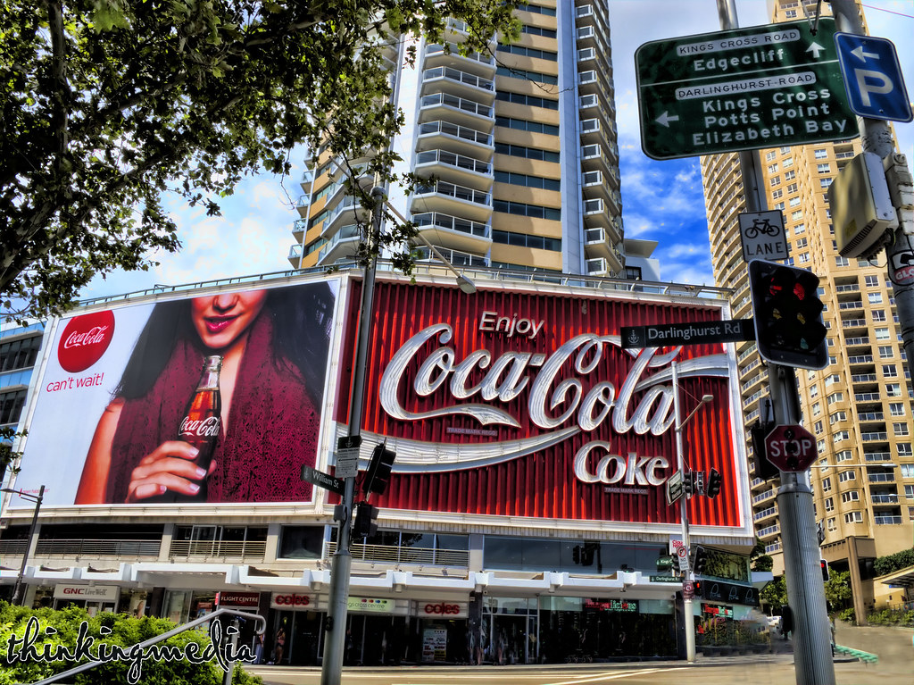 Coca Cola Sign:  things to do and see in Potts Point, Sydney