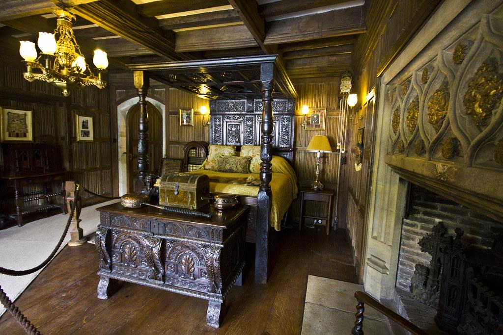 The Tudor Bedroom Athelhampton House Nr Dorcester Dorse Flickr