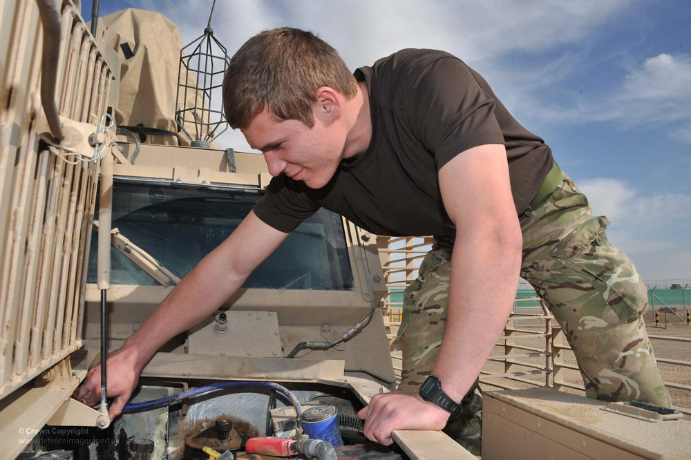 vehicle technician army