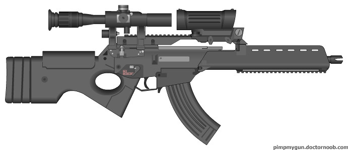 HK G36-SR | one of my many guns that im maken~<3 background