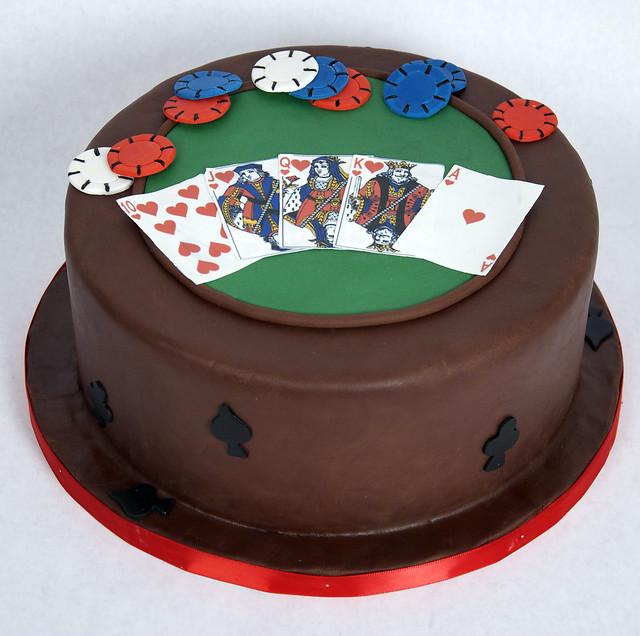 D7005 - designer poker cake toronto