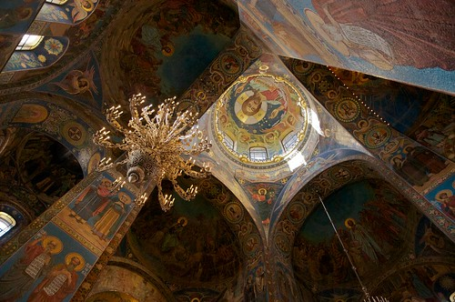 Ceiling of the Church of the Saviour on Spilled Blood | by rob glow
