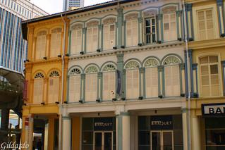 Shophouses, Singapore