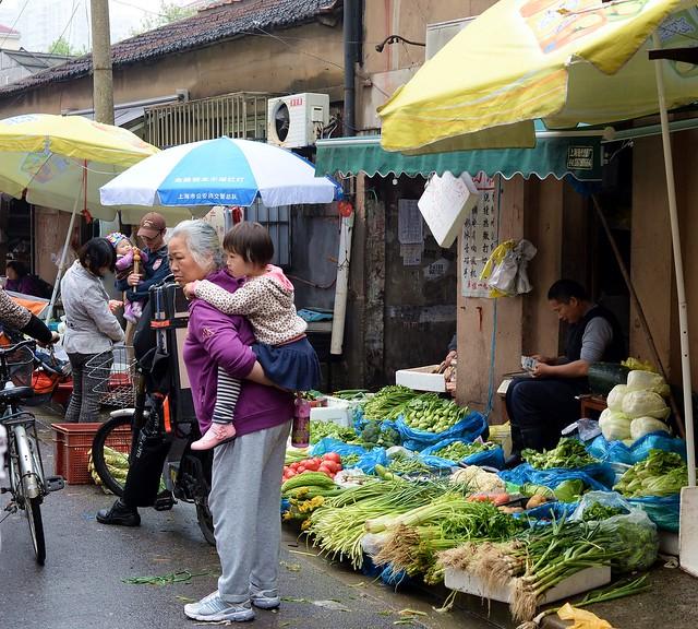 Shanghai - Fresh vegetables anyone?