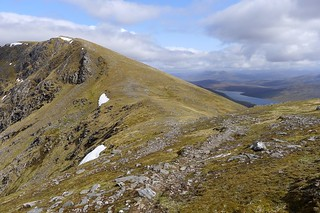 Western ridge of Sgurr Breac | by Nick Bramhall