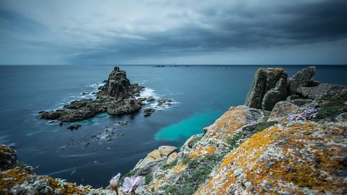 uk longexposure sea england seascape landscape cornwall unitedkingdom landsend slowshutter sonydslra65