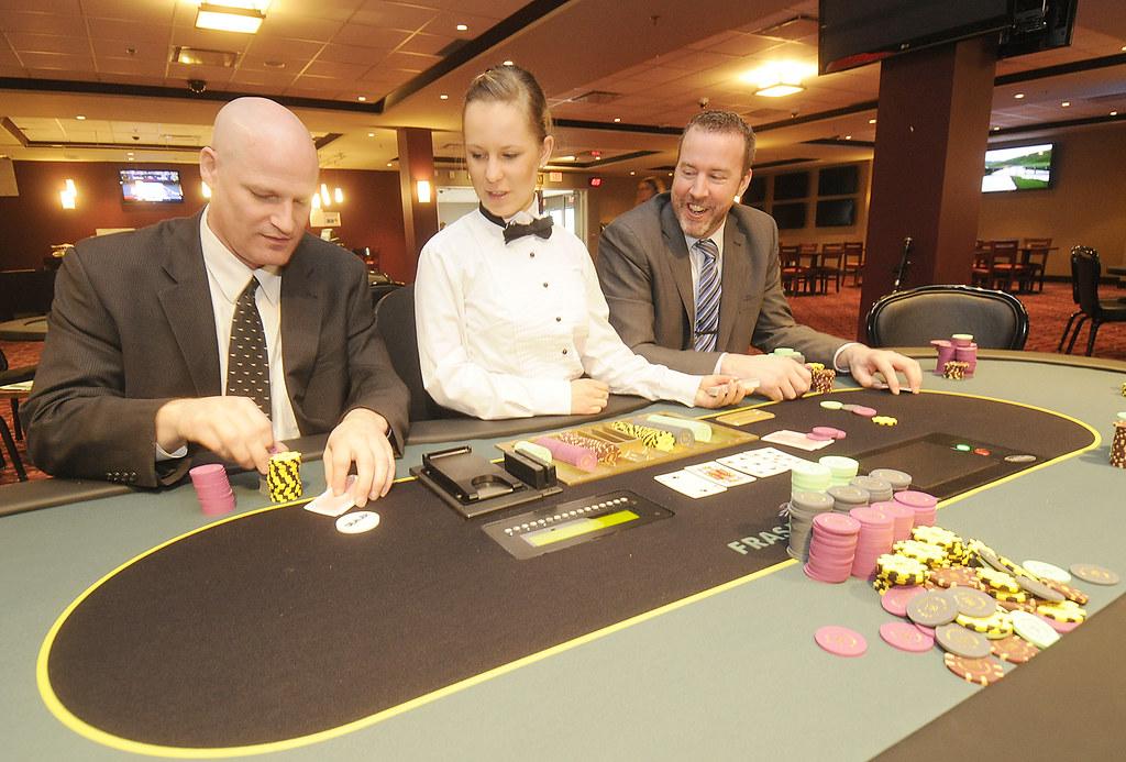 Fraser Downs Poker Room