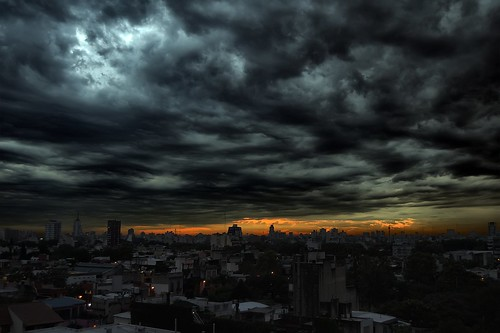 city sunset storm water argentina rain night clouds buildings lluvia edificios agua buenosaires ciudad nubes ocaso hdr stunningskies magicunicornverybest magicunicornmasterpiece
