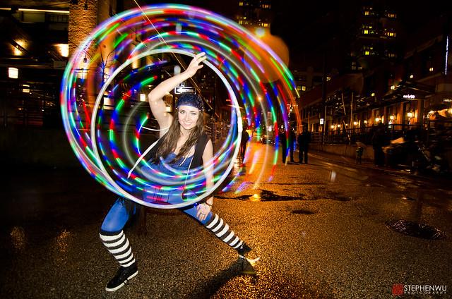 Illuminate Yaletown Lights, Magic, Action!