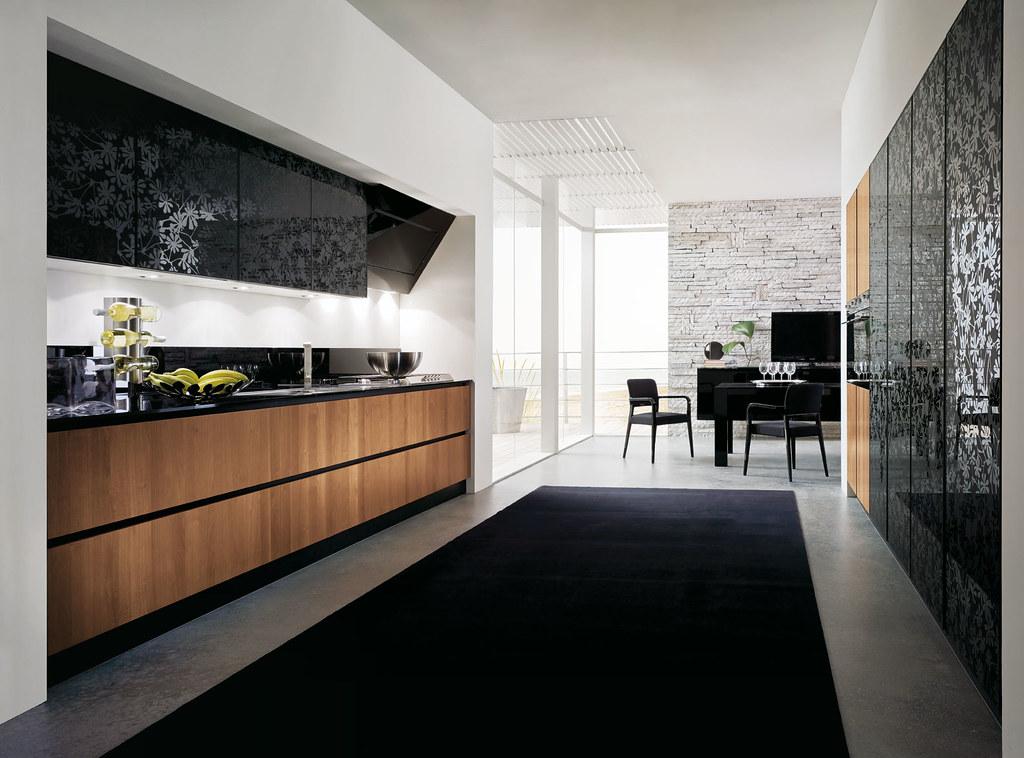 Mobili Cucina moderna in noce | Gicinque Cucine - cucina mod ...