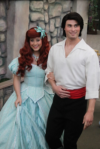 Ariel and Prince Eric | by Castles, Capes & Clones
