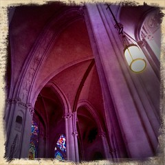 NYC Cathedral, but the columns came from Maine...