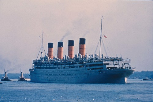 Cunard RMS Aquitania