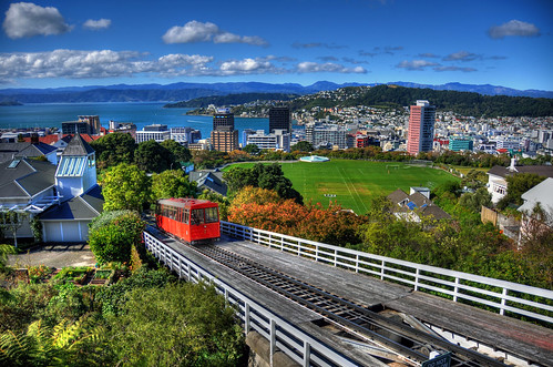 Wellington Cable Car and City | by wiifm