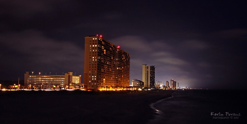 sun beach water night clouds fun lights evening pier sand gulf florida condo springbreak april nightlife panamacitybeach panamacity 2012 pierpark