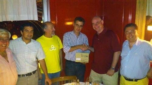 Entrega Premio Concurso Dstar 2011
