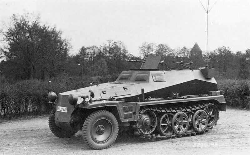 Sd.Kfz. 250.5 leichter Beobachtungspanzerwagen
