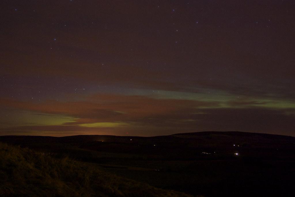 Aurora over Aberdeenshire