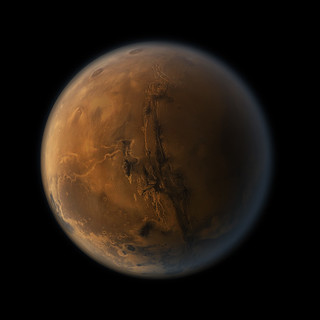 Mars planet 1 (Nasa image enhanced) | by J.Gabás Esteban