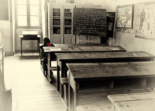 Classroom lone student | by keith ellwood