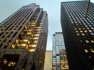 Sky Buildings Midtown Manhattan NY 5296   by bobistraveling