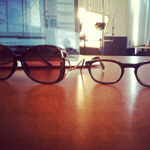 These are my glasses