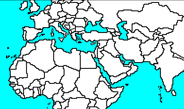 middle-east-and-north-africa-map-blank-i0 (1) | Blank Middle… | Flickr